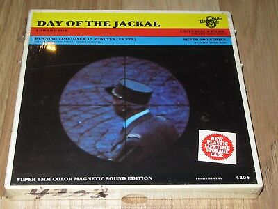 DAY OF THE JACKAL, NEUF, SOUS BLISTER, VO, 120m, super 8.