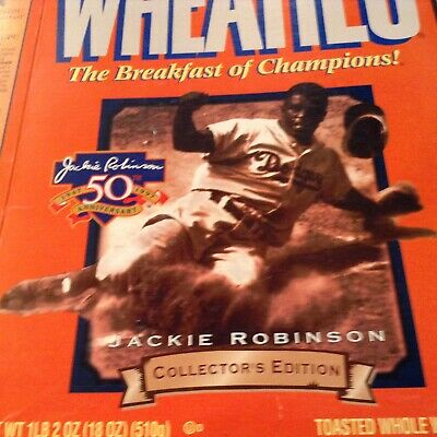 3a7be3d5af8 WHEATIES Cereal Box Muhammad Ali Tiger Woods Houston Comets Jackie Robinson  Ryan