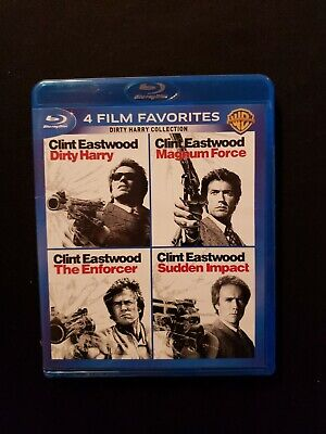 clint eastwood 4 film collection blu ray