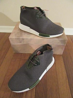 cb9c5f1595aab END x ADIDAS CONSORTIUM NMD C1 Size 11.5 Earth Green Solid Green BB599324  DS NIB