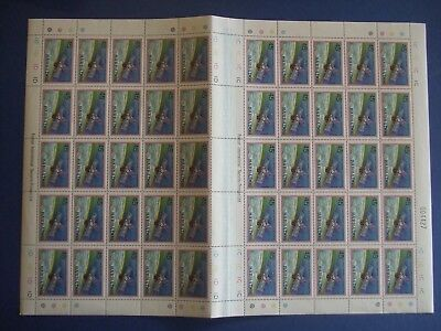 Stamps Barbados 1979 Space Projects - 6 Complete Sheets Of 50 Mnh S.g 639-644