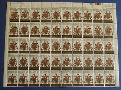 Stamps Barbados 1966 Independence S.g. 356 4 Cents - 2 Sheets Of 50 Mnh Top & Bt