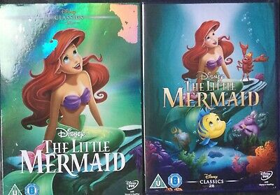 Disneys The Little Mermaid (NEW/SEALED DVD ) with O-Ring Slipcase)