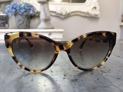 b565fbe1e Prada Cat Eye Sunglasses SPR 08S 7S0-0A7 Tortoiseshell Womens With Case