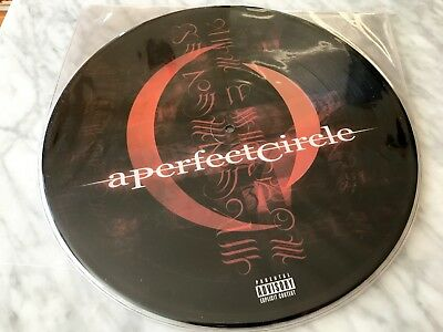 A Perfect Circle Mer de Noms 2 LP Limited Edition Picture RARE Disc Tool Pucifer