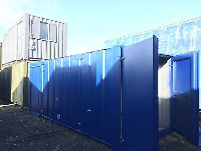 20ft x 8ft Site Office /Half Office/ Half Store / Portable Building / Site Cabin