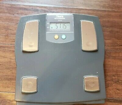 TANITA BODY FAT MONITOR / Pro Bathroom SCALE MODEL TBF-612 ~ working