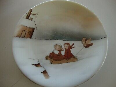 Royal Bayreuth childs plate
