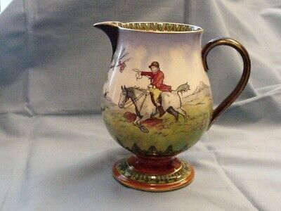 Royal Doulton Series Ware George Morland Fox Hunting Scene - Pitcher
