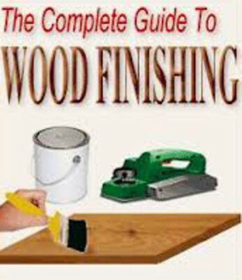 The Complete Guide To Wood Finishing ebook on CD