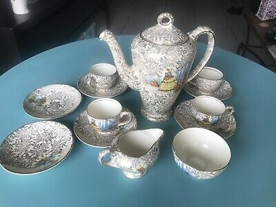 "Vintage ""Empire"" England Tea Set"