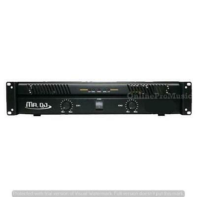 Mr. Dj AMP5800 2 Channel Professional Power Amplifier with 5800 Watts Maximum