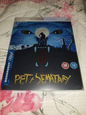 Pet Sematary  (30th Anniversary) Limited Edition 4K Steelbook Brand New sealed