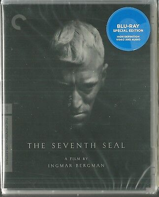 NEW Sealed BLU Ray - THE SEVENTH SEAL - Criterion Collection #11  Ingmar Bergman