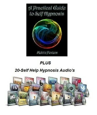 A Practical Guide to Self-Hypnosis Audio Bk + 20-Self Help Hypnosis - Audios. FS