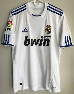 online store 988a1 48417 ADIDAS 2010/11 REAL Madrid Cristiano Ronaldo Jersey M CR9 kit shirt juventus