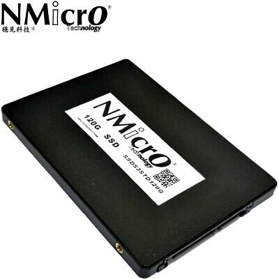 NMicro 120G 120GB SATA III 3D NAND Internal Solid State Drive SSD 7MM 2.5""