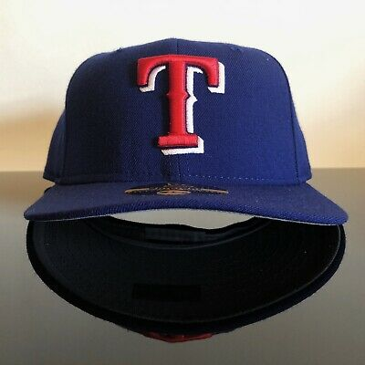 afe61bc7 NEW VINTAGE NEW Era 59fifty 5950 Texas Rangers On Field Authentic 7 1/8 hat