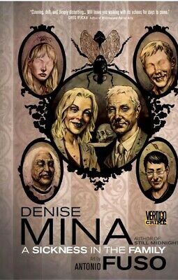 A Sickness in the Family - Denise Mina - Hardback - Vertigo Graphic Novel - NEW