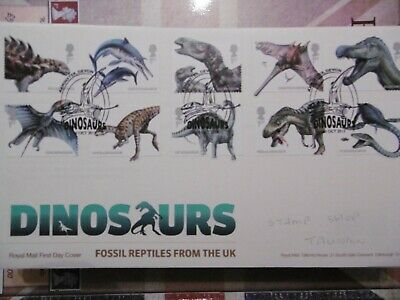 GB 2013 Dinosaurs - First Day Covers - Axminster