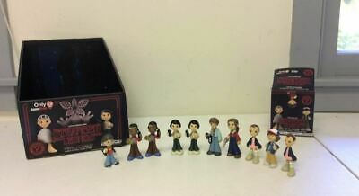 Funko Stranger Things Mystery Mini Lot of 10 w/ Display Box Eleven Mike Dustin