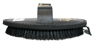 Body Brush -  Leather Back - Equerry