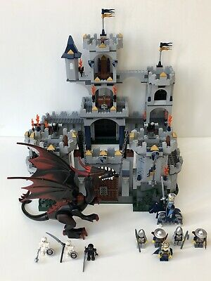 Lego Castle 7094 Kings Castle Siege Preowned With Instructions