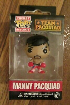 Funko Pocket Pop! Keychain Team Pacquiao MANNY PACQUIAO Key Chain New In Box NIB