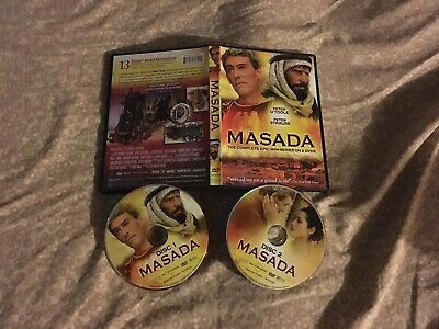 Masada - Miniseries (DVD, 2007, 2-Disc Set) Very Good With Free Shipping