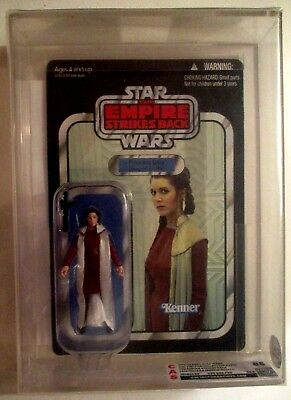 12 Hasbro PRINCESS LEIA ORGANO UNPUNCHED FIGURE GRADE CAS 85 Empire Strikes Back