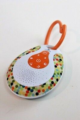 MyBaby by Homedics SoundSpa On-the-Go Sound Machine Nature Sounds Lullaby Music