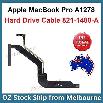 "Hard Drive HDD SSD Cable 821-1480-A For Apple MacBook Pro 13"" A1278 Unibody 2012"