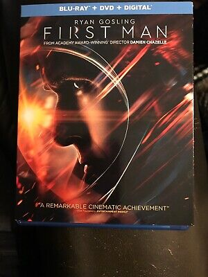 New Release Blu-Ray DVD First Man