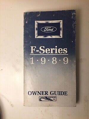1988 ford f250 owners manual pdf
