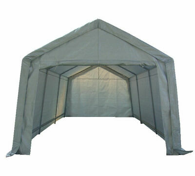 Portable Garage Carport Shelter Car Port Canopy 3m x 6m Galvanised Frame White*