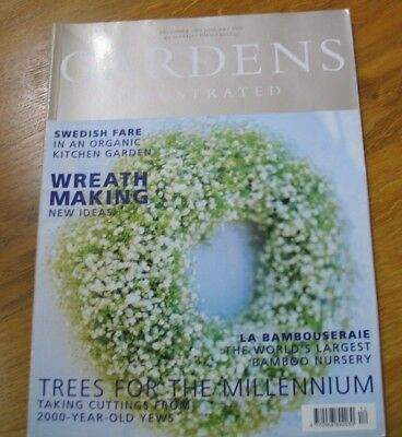 Gardens Illustrated December 1999 January 2000 Trees For The Millennium - Wreath