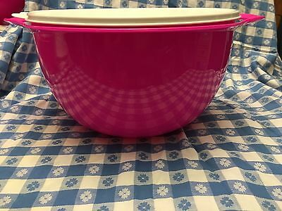 Tupperware ThatsA MEGA BOWL 42CUP/10L PINK/SUGAR - Mixing Storage