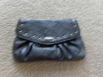 Brand New Grace Adele Elegant Jane Black Stud Clutch with tags on