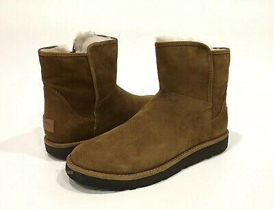 2da327786db UGG ABREE CLASSIC Luxe Short Slim Premium Suede Lined Boots Made in ...