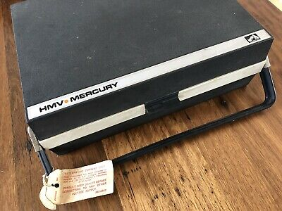 HMV Mercury Vintage Retro Portable Record Player