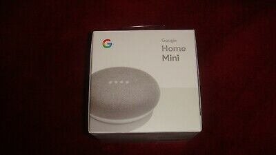 Google Home Mini Powered By Google Smart Assistant, New In Sealed Box, Chalk