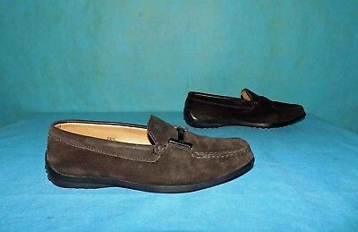 Mocassin TOD'S Brown Leather P 35,5 Fr Very Good Condition