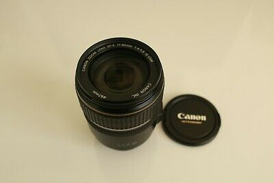 Canon Zoom Lens EF-S 17-85mm  f/4.0-5.6  IS USM. Mint condition. With lens caps.