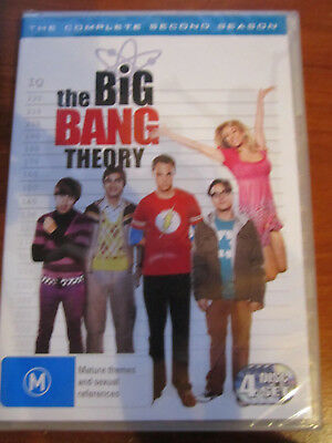Dvd  Brand New Sealed The Big Bang Theory Complete 2Nd Season ** Must See **