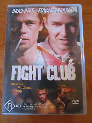 Dvd  Fight Club    ** Must See **