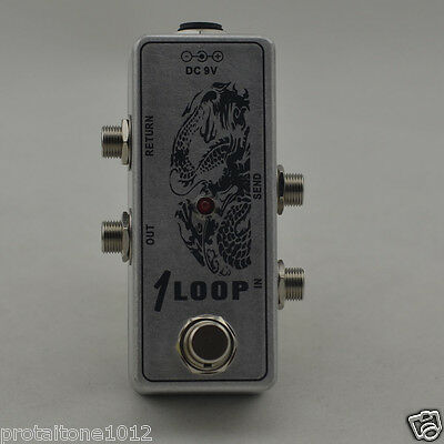 True Bypass Mini AB Box Pedal, Guitar Effect Pedal Looper  Pedal Switch