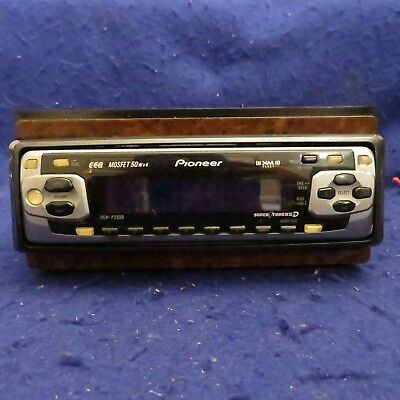 PIONEER DEH P2500 50WX4 XM Super Tuner III Auto Car CD Receiver Stereo SEE PICS