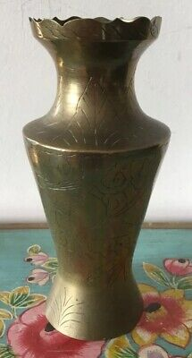 Lovely Vintage Chinese Brass Vase/urn