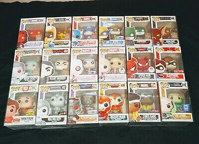 Huge Funko Pop Exclusives Lot - Sdcc/ Nycc/ Eccc/ Tru/ Hot Topic - 30 Figures!!!