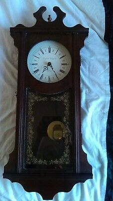 Vintage Style English Elegance Quartz Pendulum Clock